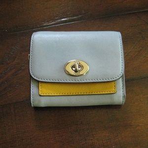 Coach Color Block Wallet 65150